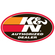 POP, Window Cling, Authorized Dealer Dbl Sided K&N 89-11595